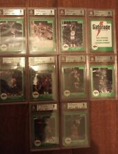 1985-1986 Star Gatorade Slam Dunk Complete Set Michael Jordan Rookie All BGS 9