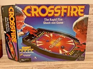Vintage Hasbro Crossfire 2001 Rapid Shoot-out Game Boxed Good Condition