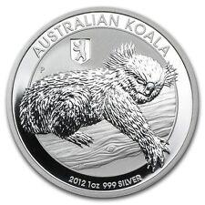 New 2012 Australian Silver Koala Bear & Berlin Privy Mark 1oz Encapsulated Coin
