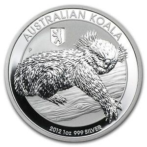 New 2012 Australian Silver Koala Bear & Berlin Privy 1oz Bullion Coin