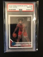 2019-20 Donruss Optic Coby White Rated Rookie PSA 10 Chicago Bulls QTY Available