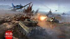 War Thunder Invite Bonus: 50 Golden Eagles + Premium (World of Tanks Warthunder)