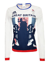 Adidas Response Long Sleeve Ruinning T Shirt Womens Team GB Training Top Gym