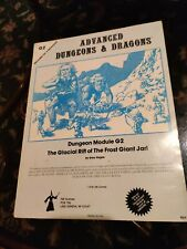 Vintage 1978 - Dungeons&Dragons Dungeon Module G2 - Glacial Rift of Frost Giant