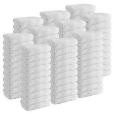 Case of 120 Cotton Hand Towels - White Multi-Purpose Bathroom Wholesale Towels