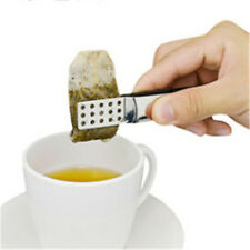 Stainless Steel Cute Food Clip Tea Bag Clip Anti-Scalding Tea Set  Small Tongs