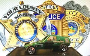 Hot Wheels Police Enforcer Green 1/64