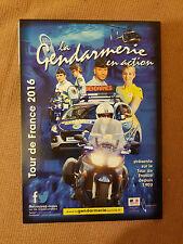 Tour de France 2016 Police en Action/gendarmerie en action CARTE POSTALE: CYCLISME