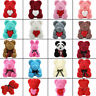 Romantic Foam Rose Bear Teddy Bear Birthday Wedding Valentine's Day Xmas Gifts