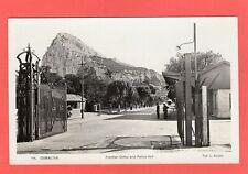 More details for gibraltar  frontier gates police hut rp pc 1937 travel key slogan ref s439