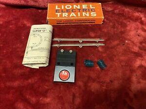 1962 Lionel 36 Super O oper car remote control set IN ORIG BOX INSTRUCTS LN COND