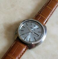 Vintage Seiko Actus SS 23 Jewels  6106 8440 Kanji December 1969 39.5mm