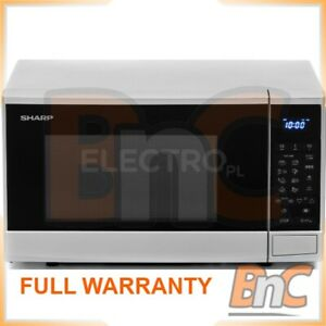 SHARP R270S 20 L Microwave Oven Digital Control 800 W Freestanding Compact