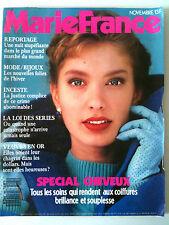 MARIE FRANCE n°405 du 11/1989; Spécial Cheveux/ Mode/Bijoux / Veuves en Or