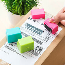 Cute 1PC Office Guard Your ID Roller Stamp SelfInking Stamp Messy Code Security