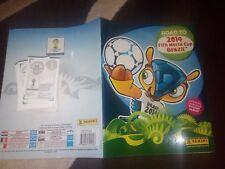 EMPTY ALBUM AND FULL STICKER SET - ROAD TO WORLD CUP BRAZIL 2014 FIFA - PANINI