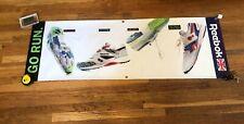 VTG Reebok Hexalite Running Shoe Banner 1991 Promo Store Display 1991 OG Sneaker