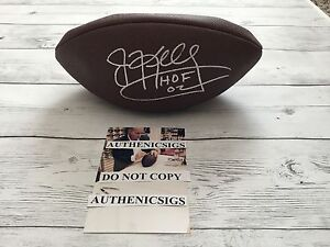 Jim Kelly Andre Reed Signed Official Size Wilson Football BECKETT BAS COA a