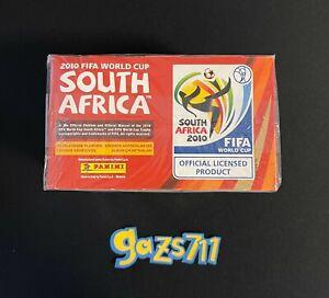 Panini 2010 FIFA World Cup 100 Packs Sticker Box - Sealed - Messi Ronaldo