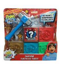 NEW Ryan's World SMASHIN' SURPRISE SAFES Hammer Smashing Surprise Mystery Toy