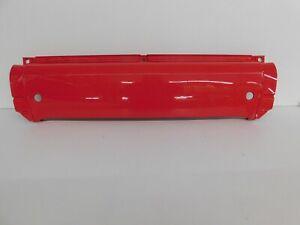 Heckschürze Heckmittelteil hinten Smart 450 Cabrio  Coupe rot Mad Red