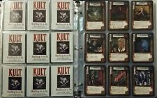 RARE Complete Set Kult CCG English Edition NM+, Never Played!!