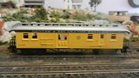 Model Power HO Old Time Rio Grande RPO/Baggage Car, Upgraded, Exc.