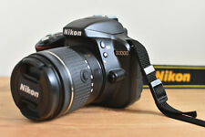 NIKON D3300 DSLR CAMERA KIT WITH NIKKOR LENS CHARGER BATTERY BAG & 16GB SD