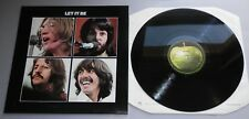 THE BEATLES-LET IT BE UK 1988 Apple Rimasterizzato STEREO LP EX +