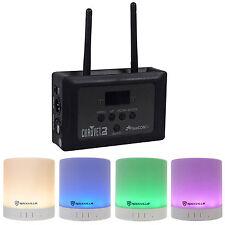 Chauvet DJ FLARECON AIR Wi-Fi Receiver+Wireless DMX Controller + Free Speaker !