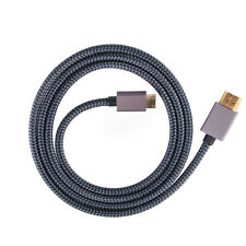Mini HDMI Type C Male to HDMI Type A 2.0 Adapter Converter Cable for Tablet HDTV