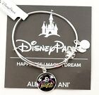 New Disney Alex and Ani Not Scary Halloween Party 2017 Silver Bangle Bracelet
