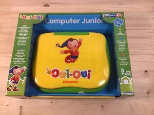 - Ordinateur Computer Junior OUI-OUI Clementoni 2011 3 ans+ NEW