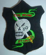 BLACK OPS - Patch - US Special Forces - RECON TEAM CRUSADER - Vietnam War - L