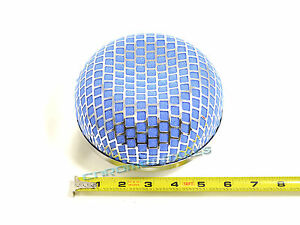 "BLUE 1993 UNIVERSAL 76mm 3"" INCHES MUSHROOM SHAPE AIR INTAKE FILTER"