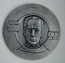 rare JEWS JEWISH Kolbe AUSCHWITZ  CONCENTRATION CAMP POLISH POLAND medal