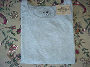 *NWT* Route 66 L/S Crew Stretch Layering Tee Gray  M