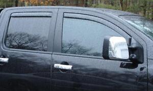 "2002 - 2006 In-Channel Vent Visors Chevy Trailblazer (24"" rear window)"