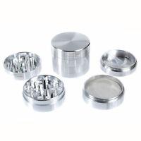 ALUMINIUM 3 PART HERB GRINDER NEW DESIGN COMPACT 50mm METAL CNC