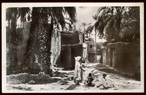 ALGERIE   AFRIQUE DU NORD la rue d'un village    ( 141)