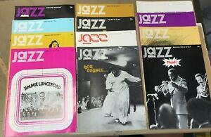 Jazz Journal Magazines x 12 Full Year 1972 Volume 25 No. 1-12 (D8-4)