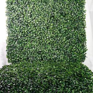 """BesameNature 12 Piece Artificial Boxwood Hedge Panels Outdoor/Indoor 20"""" x 20"""""""