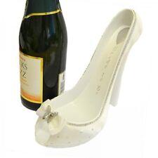 Zapato De Novias Botella de vino Titular Con Detalle De Mariposa-Pantalla De Mesa De Boda