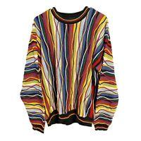 Vintage Protege Cosby Biggie 90s Hip Hop Rap 3D Ugly Sweater Adult XL Mens Rare