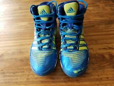 USED ADIDAS ADIPURE CRAZYQUICK BSKTBALL SHOES/GOOD CONDITION/SZ 6.5/ROYAL BLUE