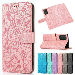 For Samsung A12 A32 A52 A71 A42 A21S A31 Wallet Case Pattern Leather Flip Cover