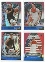 x4 LaMELO BALL 2020-21 Prizm Draft Red White Blue REFRACTOR Rookie Card lot/set!