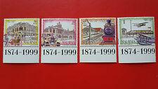 1 Set 1999 Malaysia Stamps -  125 Years Of Taiping ( 20sen, 30sen, 50sen & RM1 )