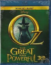 Oz The Great and Powerful Blu-ray 3D + Blu-ray _ New Sealed _ Clearance Sale
