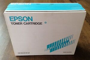 OEM Epson S050002 Black Toner Cartridge EPSN-1517D Genuine New Sealed